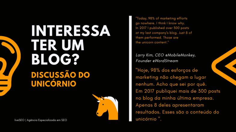 Interessa ter um blog no ecommerce-discussao do unicornio