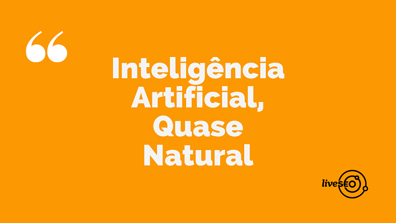 Inteligencia artificial quase natural